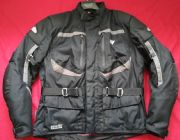 "HEIN GERICKE SUMMIT  GORETEX CORDURA MOTORBIKE JACKET 42"" CHEST EU 52  L"